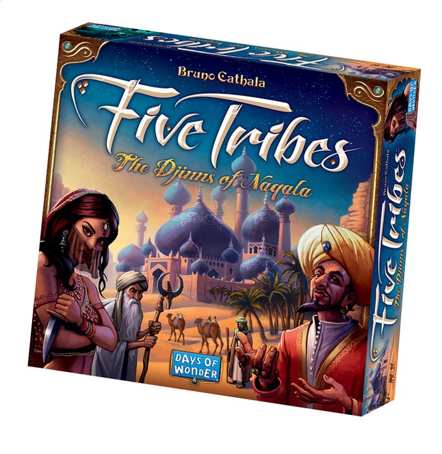 Afbeelding van Five Tribes - The Djinns of Naqala ENG from DreamLand