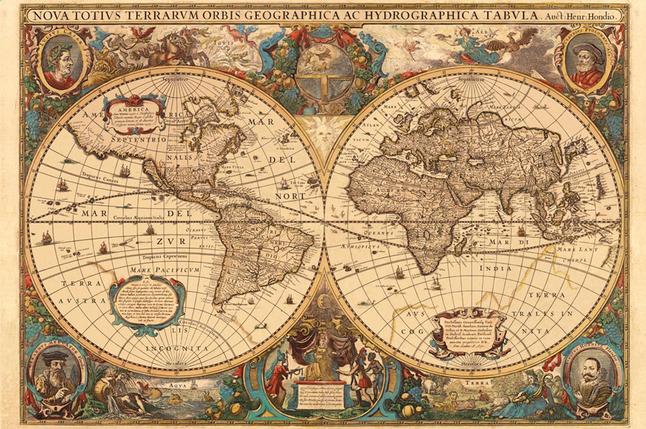 Afbeelding van Ravensburger puzzel Antieke wereldkaart from DreamLand