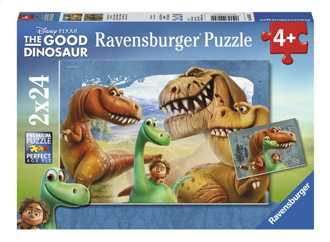 Afbeelding van Ravensburger Puzzel 2-in-1 The Good Dinosaur Speciale vriendschap from DreamLand