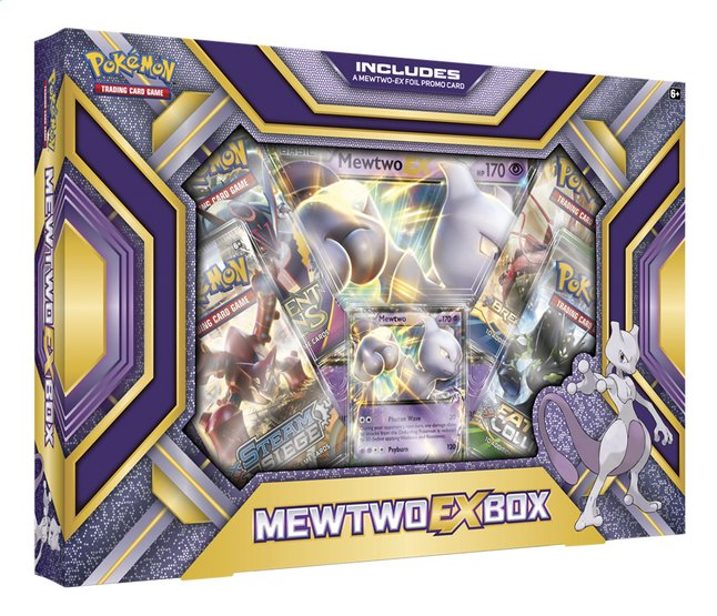 Afbeelding van Pokémon Trading cards Mewtwo-ex Box from DreamLand