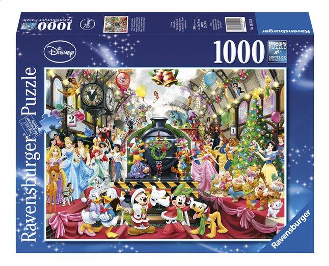 Afbeelding van Ravensburger Puzzel Disney Kerstmis op station from DreamLand