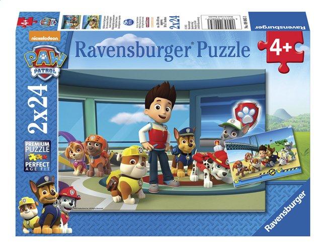 ravensburger puzzle 2 en 1 pat 39 patrouille les d tectives. Black Bedroom Furniture Sets. Home Design Ideas