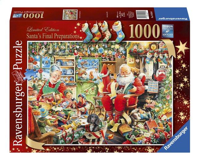 Image pour Ravensburger puzzle Les derniers préparatifs de Père Noël à partir de DreamLand