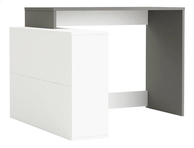 Demeyere meubles bureau corner décor blanc gris dreamland