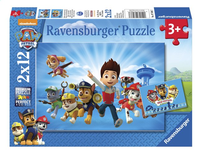 Afbeelding van Ravensburger puzzel 2-in-1 PAW Patrol Ryder from DreamLand