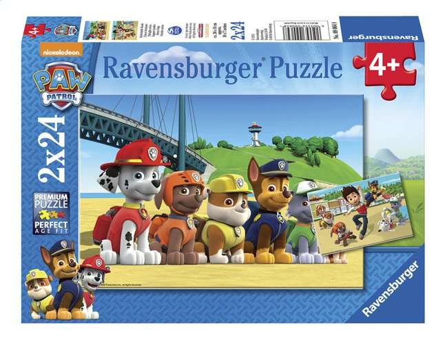 Afbeelding van Ravensburger puzzel 2-in-1 PAW Patrol Dappere honden from DreamLand