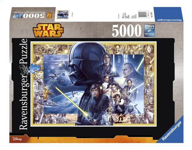 Afbeelding van Ravensburger puzzel Disney Star Wars Saga from DreamLand