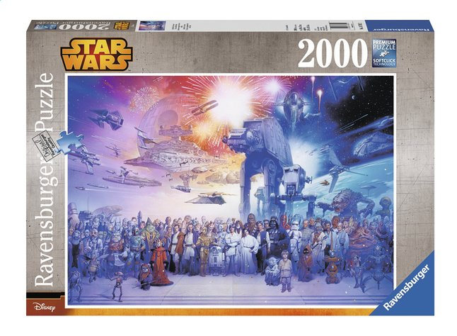 Afbeelding van Ravensburger puzzle Disney Star Wars Universum from DreamLand