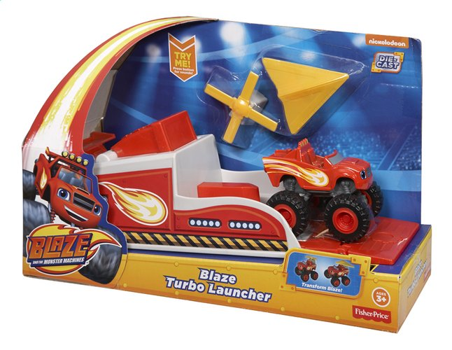Image pour Fisher-Price set Blaze et les Monster Machines Blaze Turbo Launcher à partir de DreamLand