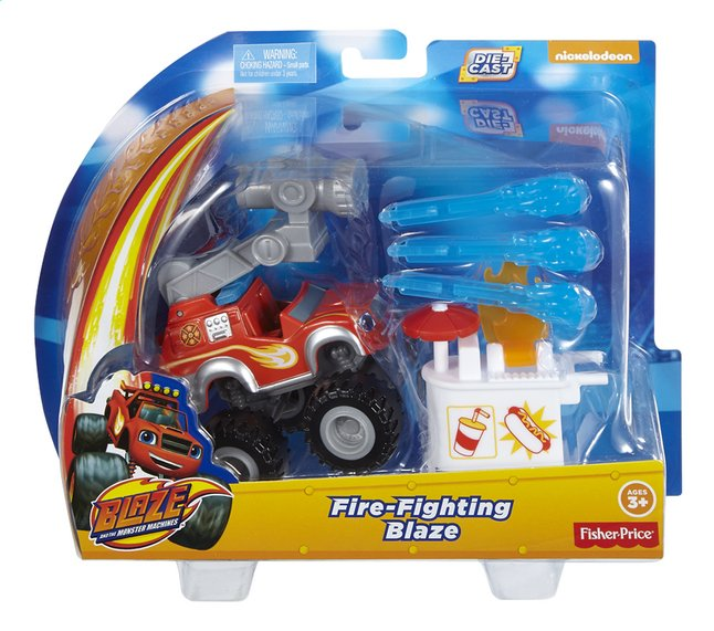 Afbeelding van Fisher-Price Speelset Blaze en de Monsterwielen Fire-Fighting Blaze from DreamLand