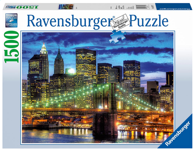 Afbeelding van Ravensburger puzzel New York Skyline from DreamLand