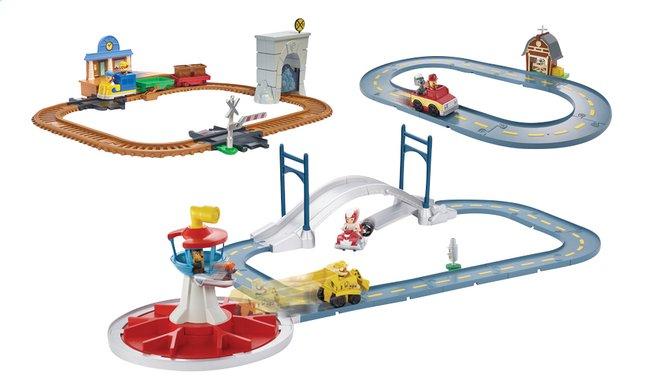 speelset paw patrol on a roll mega track set 3 in 1 dreamland. Black Bedroom Furniture Sets. Home Design Ideas