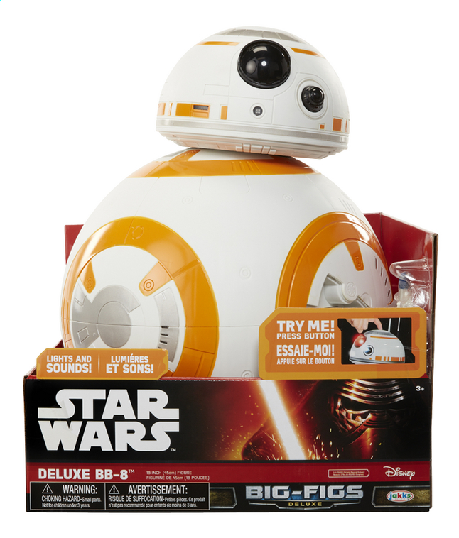 Afbeelding van Figuur Star Wars Episode VII Deluxe BB-8 from DreamLand