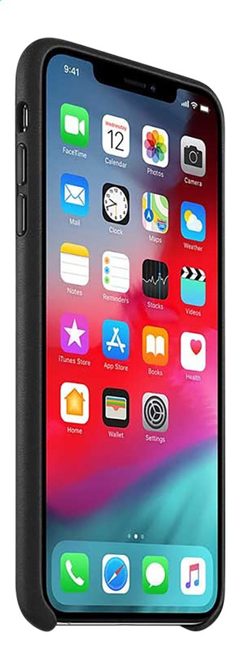 Image pour Apple coque en cuir pour iPhone Xs Max noir à partir de DreamLand