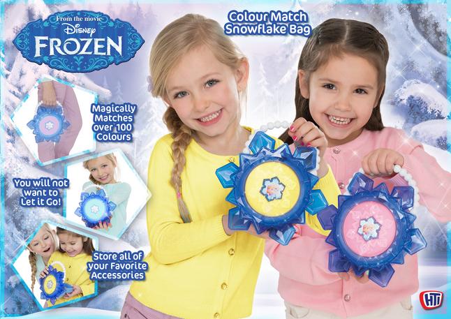 Image pour Sac à main Disney La Reine des Neiges Colour Match Snowflake Bag à partir de DreamLand
