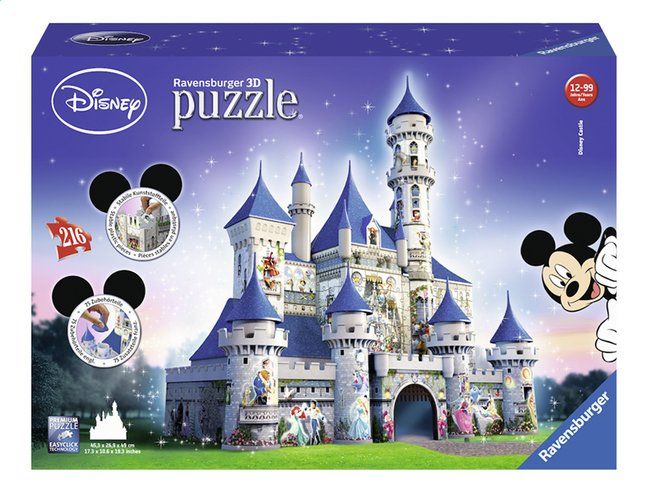 Afbeelding van Ravensburger 3D-puzzel Disney Castle from DreamLand