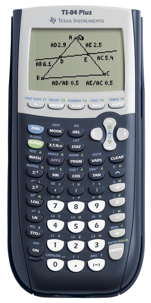 Afbeelding van Texas Instruments rekenmachine TI-84 Plus from DreamLand
