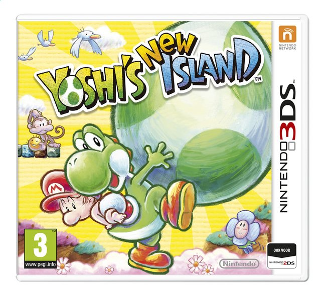 Afbeelding van Nintendo 3DS Select Yoshi's New Island NL from DreamLand