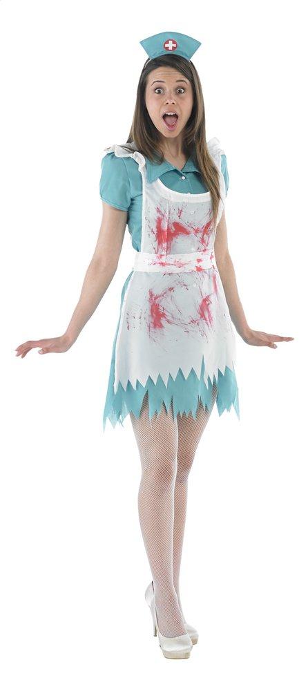 Afbeelding van Verkleedpak bebloede verpleegster maat 42 from DreamLand