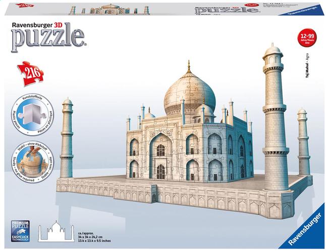 Afbeelding van Ravensburger 3D-puzzel Taj Mahal from DreamLand