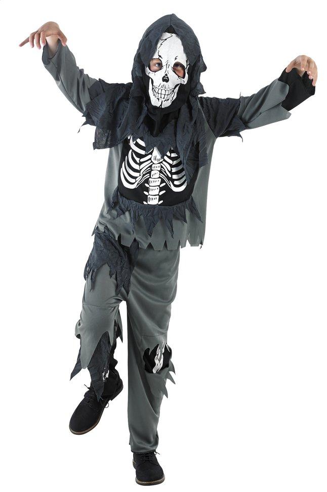 Afbeelding van Verkleedpak zombie met skelet op buik from DreamLand
