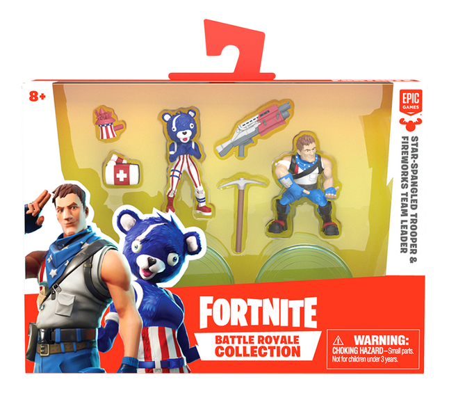 Afbeelding van Figuur Fortnite Star-Spangled Trooper & Fireworks Team Leader from DreamLand