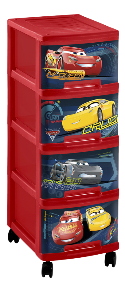 Curver ladeblok disney cars 3 40 l dreamland for Cars ladeblok