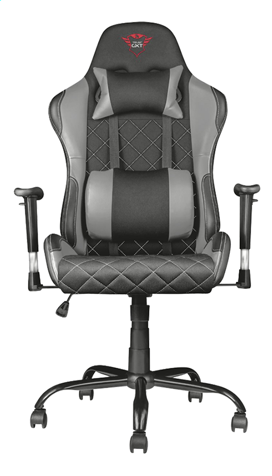 Trust fauteuil gamer GXT 707R Resto gris/noir