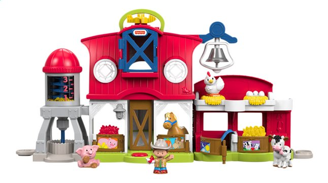 fisher price little people les animaux de la ferme dreamland. Black Bedroom Furniture Sets. Home Design Ideas