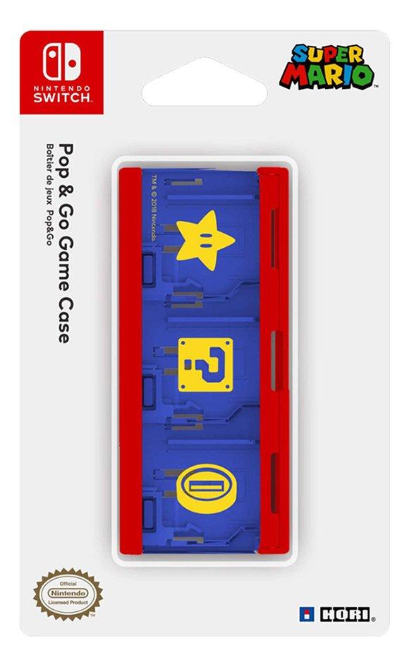 Hori Pop & Lock Game Case Super Mario Edition Nintendo Switch