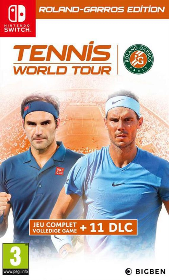 Afbeelding van Nintendo Switch Tennis World Tour - Roland Garros Edition NL/FR from DreamLand
