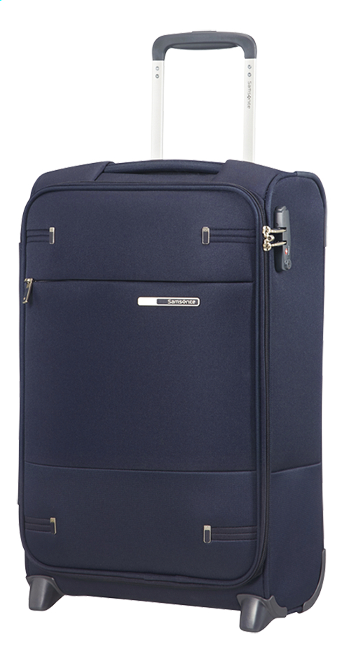 Afbeelding van Samsonite zachte reistrolley Base Boost 35 Upright Navy Blue 55 cm from DreamLand