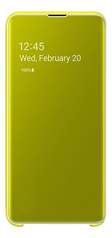Afbeelding van Samsung Foliocover Clear View Cover voor Galaxy S10e yellow from DreamLand