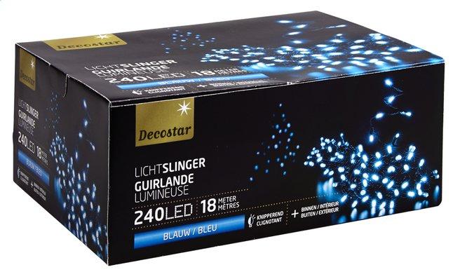 Image pour Guirlande lumineuse LED L 18 m bleu à partir de DreamLand
