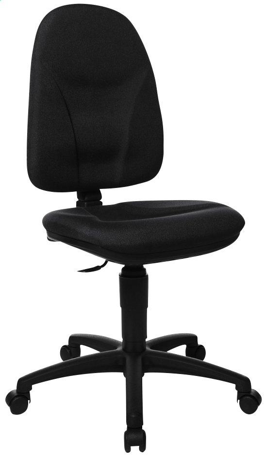 Topstar chaise de bureau home chair 50 noir dreamland - Topstar chaise de bureau ...