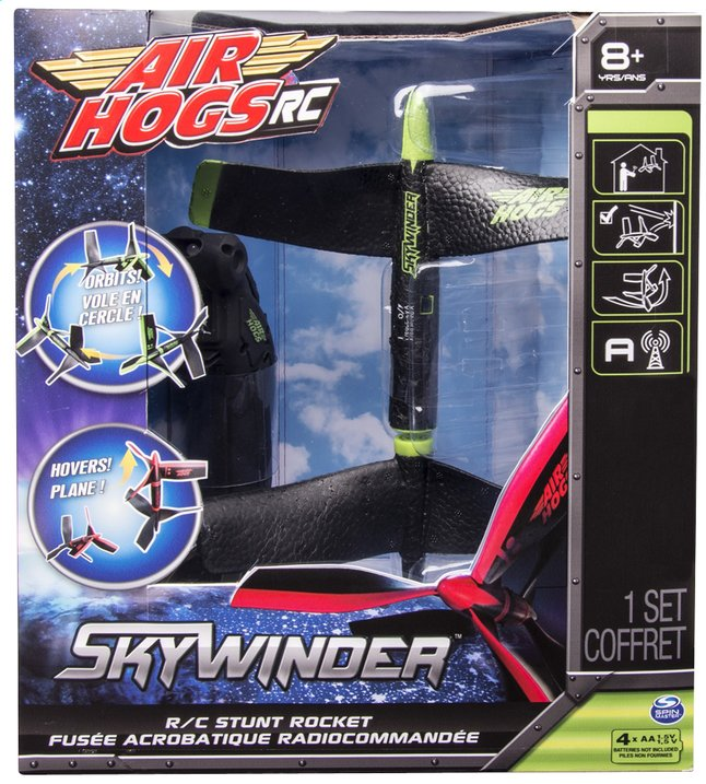 Afbeelding van Air Hogs stuntraket RC Skywinder groen from DreamLand