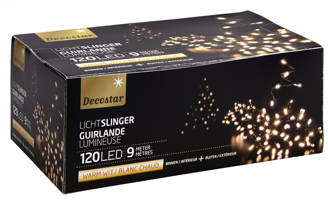 Afbeelding van Ledverlichting slinger L 9 m warm wit from DreamLand
