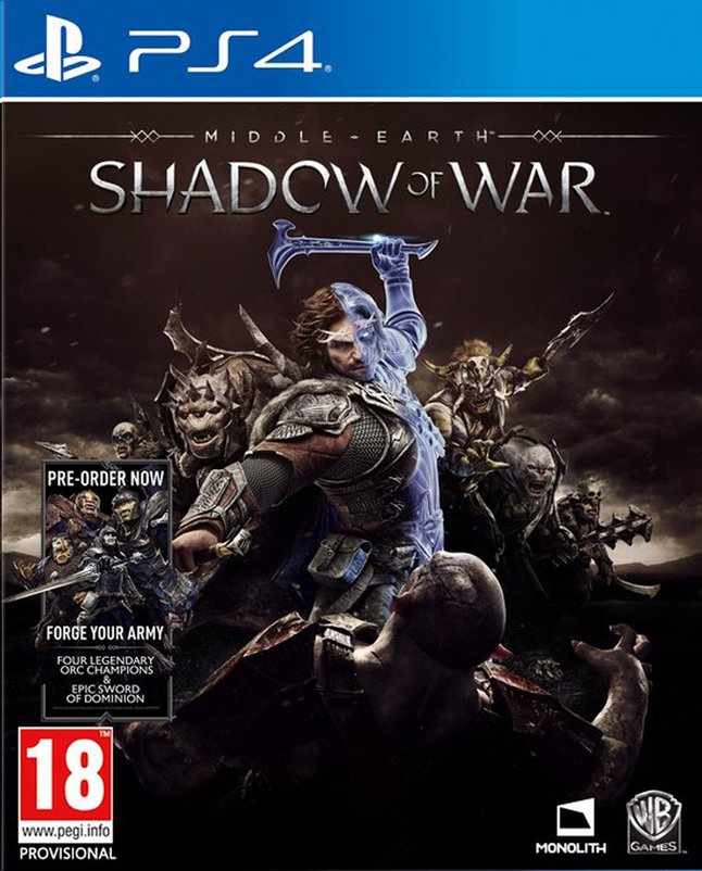Afbeelding van PS4 Middle-Earth Shadow of War ENG/FR from DreamLand