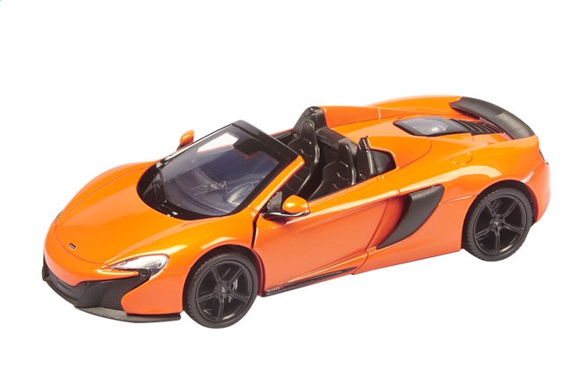 Image pour DreamLand voiture Showroom de luxe McLaren 650S Spider orange à partir de DreamLand