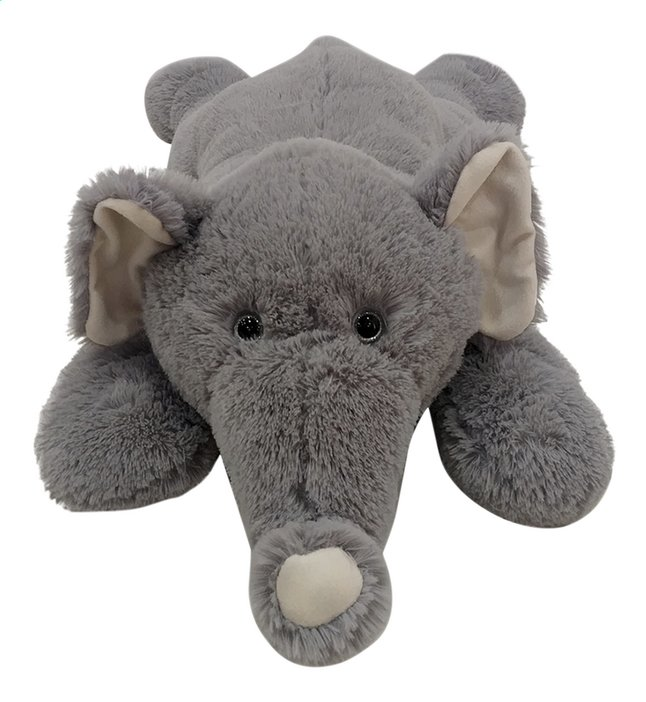 Afbeelding van Grote knuffel Olifant liggend 80 cm from DreamLand