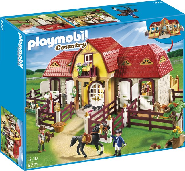 Afbeelding van Playmobil Country 5221 Grote paardenranch from DreamLand