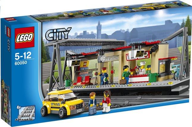 Image pour LEGO City 60050 La gare à partir de DreamLand