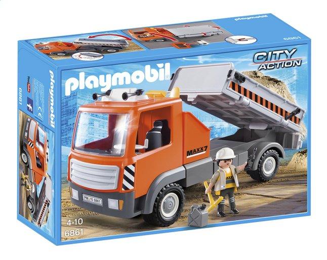 Image pour Playmobil City Action 6861 Camion de chantier à partir de DreamLand