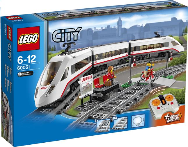 Image pour LEGO City 60051 Le train de passagers à grande vitesse à partir de DreamLand