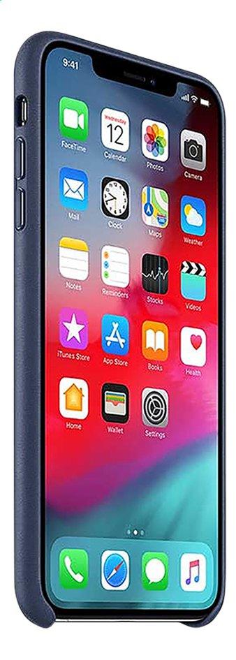 Image pour Apple coque en cuir pour iPhone Xs Max Midnight Blue à partir de DreamLand