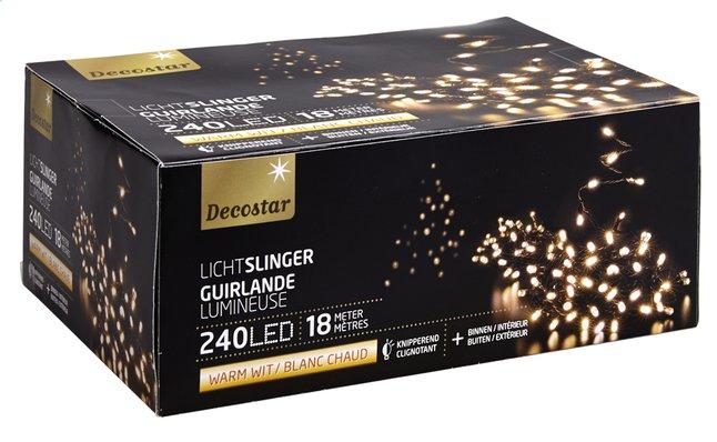 Image pour Guirlande lumineuse LED L 18 m blanc chaud à partir de DreamLand