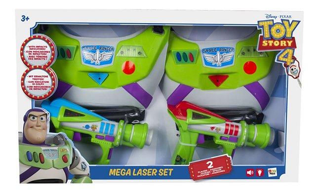 Pistolet laser Toy Story 4 Mega Laser Set