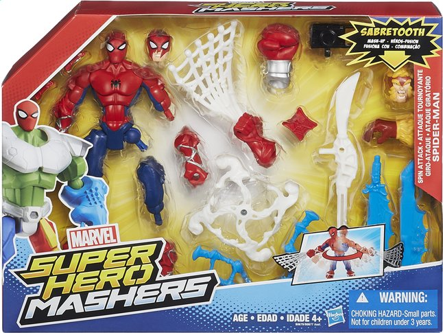 Afbeelding van Set Super Hero Mashers Mash-Up Spider-Man from DreamLand