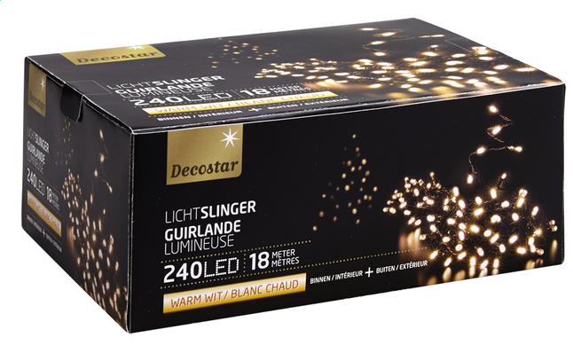 Afbeelding van Ledverlichting slinger L 18 m warm wit from DreamLand