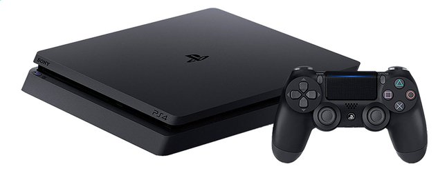 PS4 Slim Console 500 GB zwart